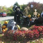 Ready for Halloween, Strawberry Hill Seaside Inn, Rockport, ME