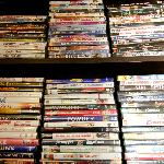 Over 400 DVD's to borrow