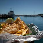 Fish n chips (and more) on the water
