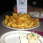 Fabulous Fisherman's Platter, Dube's, Salem, MA