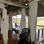 Large porch to our room