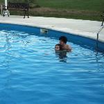 muy buena la piscina