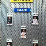 The Blue Cast - many different casts each represented by a color