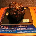 Chance to touch a meteorite