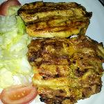 the grilled chicken breast, excellent