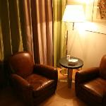 Sitting area in room- very comfortable