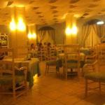 El restaurante italiano dentro del hotel
