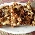 Chicharon bulaklak.. sinfully delicious! ummm!