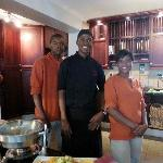 Chef and His Assistants