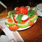 lekkere gezonde salade erbij