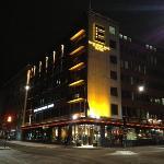 hotellets framsida