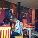 Inside Cafe des Arts