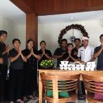 The best staff in ubud st the best hotel, Inata!