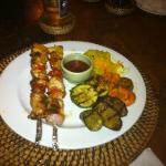 Kababs from dinning room