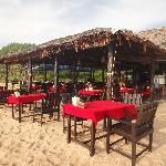 restaurant-bar on the beach