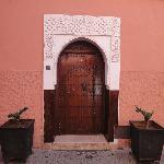 Porte d'entrée du Riad