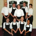 Julie and her team at Clarkes