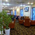 HI Express Stevenage - Lounge area