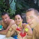 drinks in a pool were amazing!