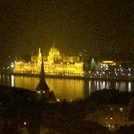 Spectacular view from the Budapest Hilton - Castle Hill