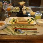 Indian breakfast インド朝食