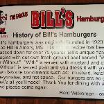 Bill's History