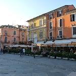 Italien mit seinen Kafeehäusern