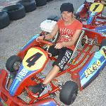 Me in the go cart :)