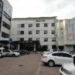 Hotel- Parkplatz