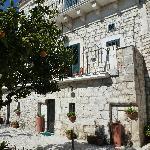 Il Palazzo con le terrazze sul girdino