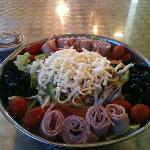 The antipasta salad bowl