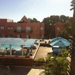 view of the pool area from our room (8)