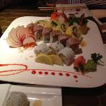 Hanbury roll, great bridge roll, and spicy scallop roll