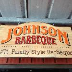 Entrance to Jonson's Barbeque