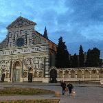 evening view of Santa Maria Novella