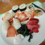 Hawaii Sushi Teller