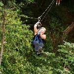 What a wonderful ziplining time I had.