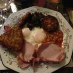 Colin's full Scottish breakfast