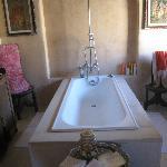 The Indian room's bath