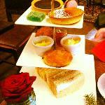 Christmas afternoon tea event. super tasty!