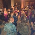 Jazz on patio turns into a dance party!