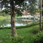 one of the Ponds in the hotel
