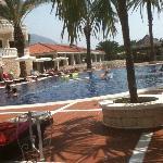 Zwembad beneden