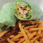 Mahi caesar wrap from Eats Cafe