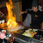Our chef at Himitsu. Excellent
