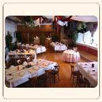 großer Saal für Familien und Betriebsfeiern bis 130 Personen