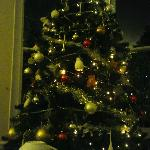 The Donnington Christmas tree
