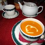 Loved the selection of teas and homemade soups!