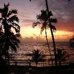 Sonnenaufgang vom Zimmer aus