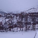 Vista del pueblo desde el Hostal